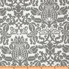 Fabric for my Dining Room Chair makeover?    Premier Prints Amsterdam Twill Storm