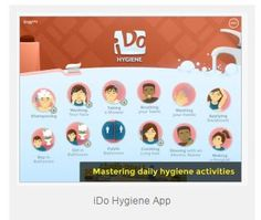 App Review: iDo Hygiene App - pinned by @PediaStaff – Please Visit ht.ly/63sNtfor all our pediatric therapy pins