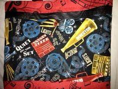Film & TV handmade totebag OC High School of the Arts OShop. Director, Quiet on the Set, Lights, Action