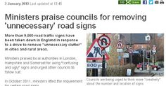 Alan D Winter ~ Independent in Houghton Regis : Time to Clean Up Houghton Regis Road Signs