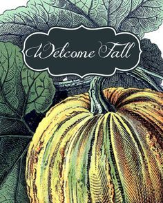Another great free fall printable from TheDomesticHeart.com to help you decorate your home for fall on a budget. | DIY Ideas | Pinterest | Budgeting ... & Another great free fall printable from TheDomesticHeart.com to help ...