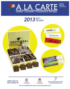 2013 Full Line Catalog from A La Carte