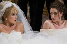 Kate Hudson stars as Liv and Anne Hathaway stars as Emma in Fox 2000 Pictures' Bride Wars Photo credit by Claire Folger. - Movie still no 4 Wedding Movies, Wedding Story, Wedding Tips, Wedding Day, Wedding Ceremony, Wedding Venues, Post Wedding, Trendy Wedding, Wedding Season