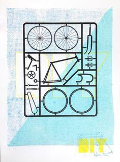 DIY Bike Poster | Cole Sletten