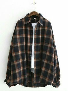 Grunge Outfits, Fashion Outfits, Fashion Fall, Fashion Men, Fashion Trends, Fashion Tips, Neo Grunge, Grunge Style, Oversized Flannel Outfits