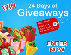 Enter to WIN a 7 night break and many more prizes!
