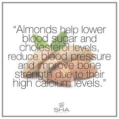 Eating almonds instead of rich carbohydrate foods has been shown to aid weight loss! #almonds #benefits #healthy #health