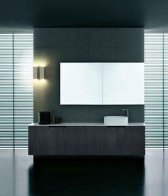 :: BATHROOMS :: Gallery Duemilaotto Bath of Boffi. simple vanity detail #bathrooms