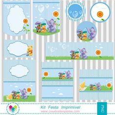 Kit Festa Ursinho Pooh mod:758