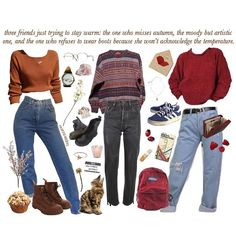 casual date outfit Grunge Outfits, Winter Outfits, Casual Outfits, Cute Outfits, Style Année 90, Looks Style, 90s Fashion, Fashion Outfits, Womens Fashion