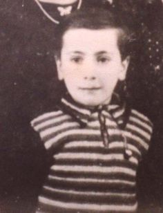 Modech Elert age 8 from Lille, France was sadly murdered in Auschwitz in 1942