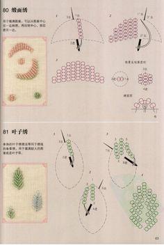 Gallery.ru / Фото #64 - Азбука вышивания: различные виды швов - Vladikana