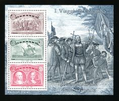 Italy-Scott-1887-MNH-Voyages-of-Columbus-Sheet-#5-CV-$4
