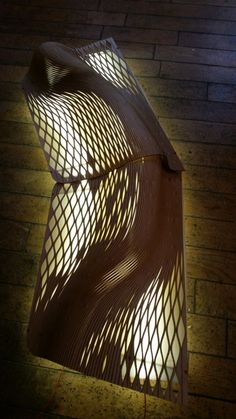The Wooden Waves - Buro Happold - Final Opened component chosen for production ©Mamou-Mani