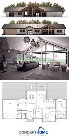 Stijl te strak. Lekker licht door veel ramen modern-farmhouses_300_Ch295_1802.jpg