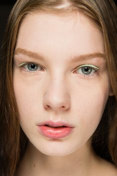 Christian Dior Spring 2015 Ready-to-Wear - Beauty - Gallery - Look 1 - Style.com