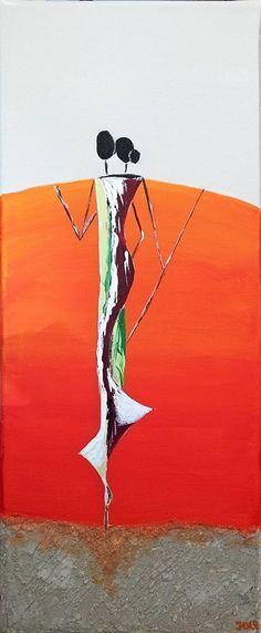 peinture acrylique - réalisé au Lézard Créatif de Royan