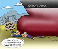 Aprovação da MP dos Portos