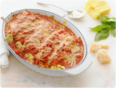 Four Cheese Cannelloni