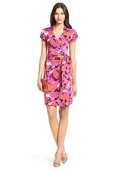 DVF Jilda Two Silk Jersey Wrap Dress