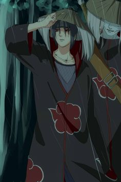 Itachi Uchiha and Kisame