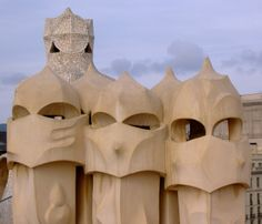 Gaudi Chimneys - Casa Mila, Barcelona