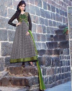 Buy Anarkali Suits and designer Anarkali Salwar Kameez at a great price. For largest collection of Anarkali Suit designs at parisworld. Anarkali Churidar, Long Anarkali, Anarkali Dress, Salwar Kameez, Sharara, Indian Clothes Online, Indian Sarees Online, Latest Anarkali Suits, Salwar Suits