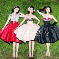 Le Palais Vintage Elegant high Waisted Skirt in multiple colors#Pinups  Gorgeous