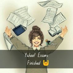 Tag a frnd Exams Funny, Exam Quotes Funny, Funny Attitude Quotes, Funny School Jokes, Funny Girl Quotes, School Memes, Girly Quotes, Cute Quotes, Exam Time Quotes