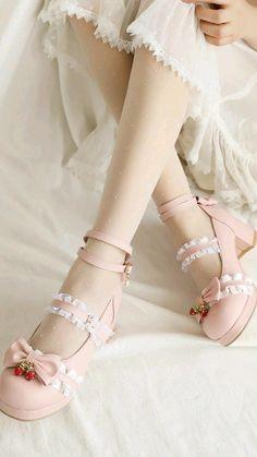 Kawaii Shoes, Kawaii Clothes, Harajuku Fashion, Kawaii Fashion, Swag Outfits, Fashion Outfits, Fashion Ideas, Dance Workout Videos, Ballet Shoes
