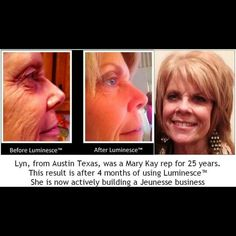 I know we talk about the Instantly Ageless a lot as it works fast on making lines and wrinkles disappear but if you are looking for something more long term, here is another of Jeunesse Global's amazing High-Tech products: The LUMINESCE™ Cellular Rejuvenation Serum - This silky serum has the highest percentage of growth factor complex possible to encourage cell renewal. Use it twice daily after cleansing and as a primer for the daily moisturizing complex or advanced night repair. Its…