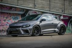 A Chinese tuner has revealed a rather spectacular VW Scirocco R.