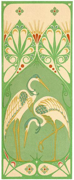 Stock image HD Art Nouveau Designs