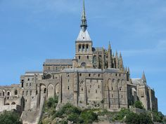 Abbaye du Mont-Saint-Michel © Allie_Caulfield