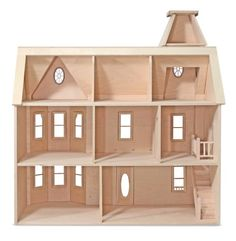 The House That Jack Built: Lady Anna - Wooden Doll House
