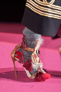 Dsquared² at Milan Fall 2015 (Details)