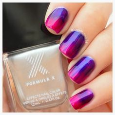 Nails By F electrifies our nail fantasy this week with the use of her new #InfiniteOmbre kit, given to her by Formula X as part of the Preen Me VIP Program.