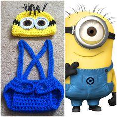 Crochet Minion Outfit