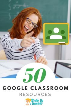 Teachers! Do you use Google Classroom? Here are 50 Google Classroom resources that will make your day! | shakeuplearning.com Online Classroom, School Classroom, Classroom Activities, Classroom Tools, Classroom Ideas, Science Classroom, Classroom Management, Library Activities, Teaching Technology