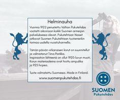 Tuote-Etiketti Suomen Pukutehtaalle http://www.grafiaitta.fi/yrityksille/tuote-etiketti-suomen-pukutehtaalle/ #etiketti #logo #tuoteetiketti #graafinensuunnittelu #tuotteistaminen