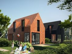 The Grow Home is back with these flatpack houses for Dutch first-time homebuyers