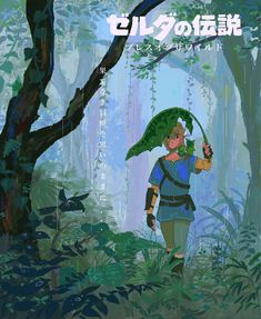 The Legend Of Zelda, Legend Of Zelda Breath, Legend Of Zelda Poster, Breath Of The Wild, Studio Ghibli, Game Character, Character Design, Image Zelda, Film D'animation