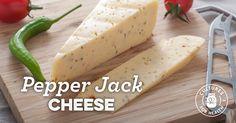 Pepper Jack Cheese recipe/ aka: my favorite cheese