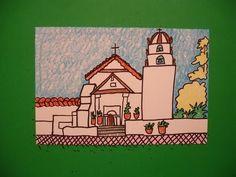 Let's Draw Mission San Buena Ventura!