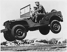 Soldier's just can't resist taking the Jeep out for a little off roading.....