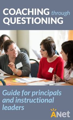 Use questioning to coach teachers using the guide and examples for principals and instructional leaders by ANet. School Leadership, Leadership Coaching, Educational Leadership, Leadership Development, Life Coaching, Coaching Quotes, Teamwork Quotes, Leader Quotes, Leadership Quotes