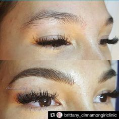 Stunning brows from the lovely & very talented @brittany_cinnamongirlclinic