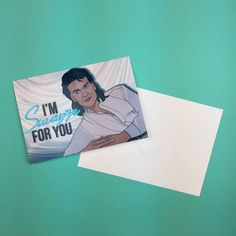 #PatrickSwayze inspired greetings cards available from http://ift.tt/1ihQVKN with FREE uk shipping!