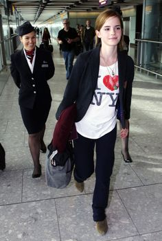 Emma Watson Photos: Emma Watson at Heathrow