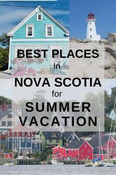 Nova Scotia Travel, Visit Nova Scotia, Summer Vacation Spots, Summer Travel, Vacation Ideas, Vacation Places, Dream Vacations, Beautiful Places To Travel, Beautiful Beaches